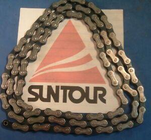 SunTour SP-6200 Sprint 9000 Index Chain NEW / NOS Vintage- 5 to 8-Spd- 116L