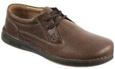 BIRKENSTOCK Men's Memphis Leather Oxford Shoes EU 42 Dark Brown New In box