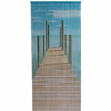 Pier Design Bamboo Door Curtain, Wall Art, Reversible - 90 x 200 cm