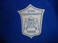 Vintage 1989 Mac Club Tournament Patch