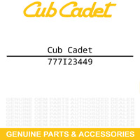 Cub Cadet 777I23449 Label Tiller Handle Instruct FT24R FT24