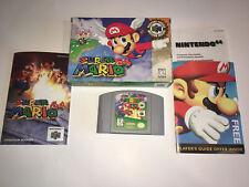 COMPLETE! Super Mario 64 (Nintendo 64, 1996)  Very Good! Check Pics!