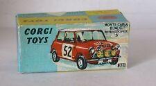 Repro Box Corgi Nr.321 Mini Monte Carlo