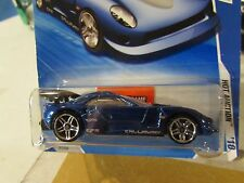 Hot Wheels Callaway C7 Hot Auction Blue! Keys to Speed Card