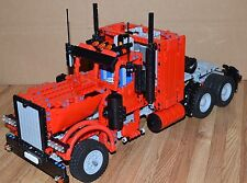 NEW LEGO TECHNIC RED 8285 CUSTOM TRUCK w/Power Functions/8882/8883/8884/8885