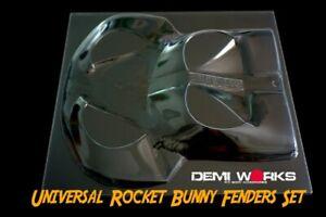 Demi Works – Universal Rocket Bunny Fender Set, RCKITOUT