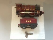 Hornby O Gauge No1 Special LMS 1929-31 with Tender No: 4312 not boxed with Key
