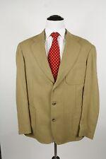 Gant 3 Roll 2 Tan Blazer Sport Coat / Jacket Size L Shooting Jacket Beige
