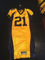 Game Worn Used Nike Cal Golden Bears Football Jersey #21 Size M