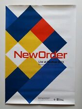 New Order - live At Bestival - Original Promo Poster