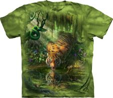 The Mountain Unisex Adult Enchanted Tiger Animal T Shirt