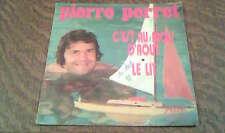 45 tours Pierre Perret - C'est au mois d'aout