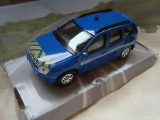 dacia duster gendarmerie nationale 1/43 neuve en boite mondo motors ref 53138