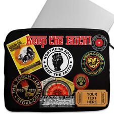 Personalised Laptop Cover NORTHERN SOUL FAITH Neoprene Sleeve Universal KS65