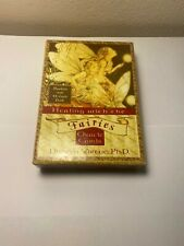 Healing with the Fairies Oracle Cards by Doreen Virtue (2001, Cards,Flash Cards)