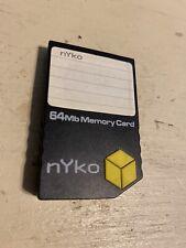 Nyko 64mb Memory Card for Nintendo GameCube
