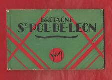 Album-Souvenir Bretagne (10 vues). St Pol-de-Léon. Notre- Dame du Kreisker. Yvon