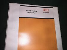 Case 4494 and 4694 Factory Shop Service Manual Reproduction