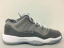 Nike Air Jordan 11 Retro Low Bg Medium Grey Gunsmoke 528896-003 Size 4y B Grade