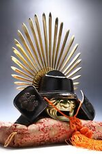 Japanese Samurai Helmet -Hideyoshi's Kabuto- with a mask