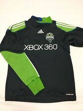 Adidas Formotion 2011 Seattle Sounders Gray Long Sleeve Goalkeeper Jersey Small