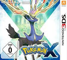 Nintendo 3ds Game - Pokemon X Boxed