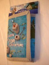 Disney Frozen Licensed Tri-Fold Heavy Canvas / Velcro Wallet