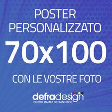 POSTER 70x100 personalizzato con le vostre foto