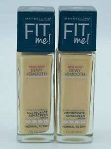 Maybelline New York Fit Me! Dewy + Smooth Foundation-118 Light Beige