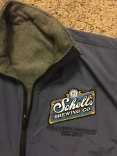 Schell's Beer brewing company Minnesota Lightweight Lined Vest Large Microbrew L