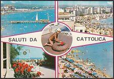 AA4526 Rimini - Provincia - Saluti da Cattolica - Vedute - Cartolina - Postcard
