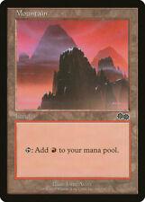 Magic MTG Tradingcard Urza's Saga 1998 Mountain 344/350