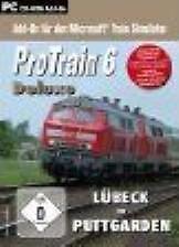 PRO TRAIN 6 DELUXE Neues Rollmaterial Lübeck Puttgarden Trainsimulator NEU