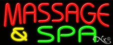 Brand New Massage Amp Spa 32x13 Real Neon Sign Withcustom Options 11208