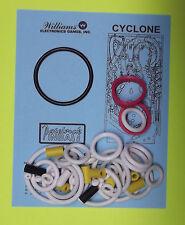 1988 Williams Cyclone pinball rubber ring kit