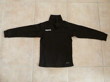 Tee-shirt maillot rugby Kipsta 6 ans  noir manches longues