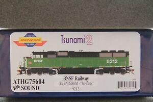 Athearn Genesis HO SD60M Tri-Clops BNSF Railway ATHG75604 With Sound Last one