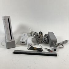 Nintendo Wii White Console RVL-001 Game Cube Compatible Complete