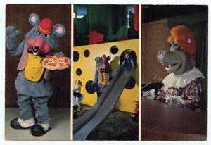CHUCK E. CHEESE Pizza Time Theatre Advertising Postcard STOCKTON California 1979