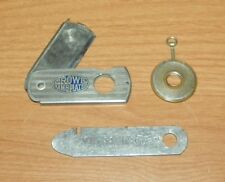Vintage - Razor Style & Coin Style Cigar Cutters w/ Elverso Cigar Box Opener