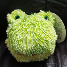 Petlou Frog Head Ball Fog Toy w/Squaker Green 3 in Dia New