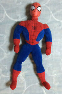 """Rare Marvel Spider-Man Talking 21"""" Plush Highly Collectible No Longer Made G366"""