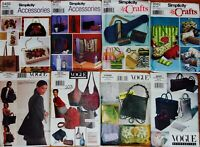 TOTE BAG, PURSE or SEW MACHINE COVER Sew Pattern ~ UC/FF ~ U PICK