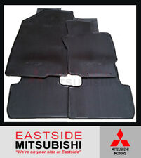 NEW GENUINE MITSUBISHI ASX XA XB XC MANUAL RUBBER FLOOR MATS 2010-2018 MZ350009
