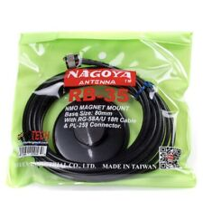 NAGOYA RB-35 NMO 80mm Magnet Mount, RG-58A/U 18ft Cable w/ PL-259 Connector NEW
