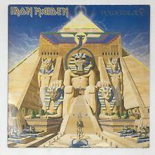 "IRON MAIDEN ""Powerslave"" 80s SJ-12321 US Press Vinyl Record Album LP Metal Eddie"