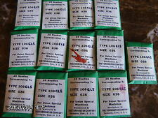25 pc UNION Special sewing machine needles 106 GLS size 036