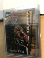 1997-98 Finest Shaquille O'Neal Showstoppers RARE GOLD EMBOSSED #309 Shaq A+