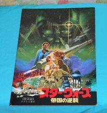 original Star Wars THE EMPIRE STRIKES BACK Japanese movie program