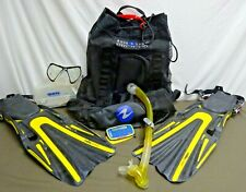 Lot of Mares Scuba Gear With Bag